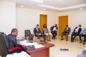 Ondo State Entrepreneurship Agency, ONDEA held her first Excos meeting for the year 2021